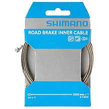 image of Shimano Road Stainless Steel Inner Brake Cable 1.6x2050 mm Single