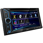 image of JVC KW-V20BT Double Din DVD CD USB Multimedia Car Stereo