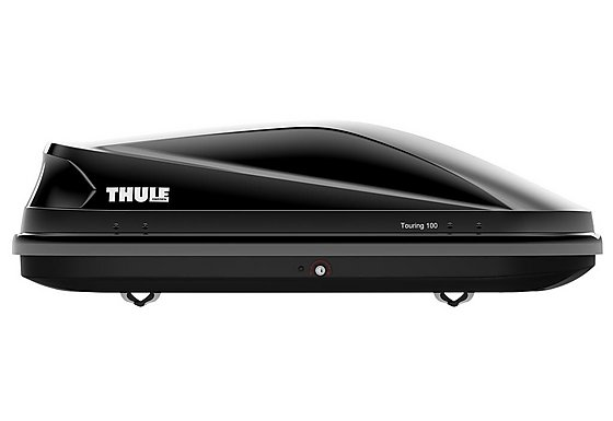 Thule Touring 100 Black Glossy Roof Box