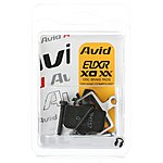 image of Avid X0 Trail Brake Pads Organic Steel Backplate