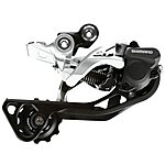 image of Shimano RD-M786 XT 10-Speed Shadow Design Rear Derailleur SGS Silver