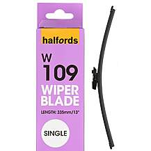 image of Halfords W109 Wiper Blade - Single