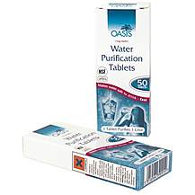 image of Water Purifying Tablets 2 x 50