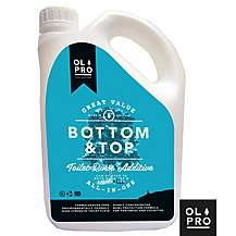 image of Olpro Bottom & Top Toilet Fluid & Toilet Rinse All In One -2L