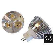 image of Olpro Warm White 3w LED Bulb (MR16)