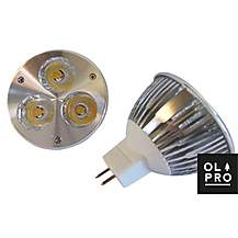 image of Olpro Warm White 6w LED Bulb (MR16)