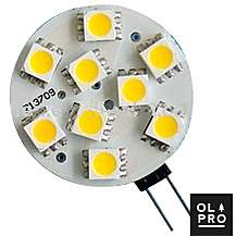 image of Olpro Warm White 2.5w G4 LED Bulb
