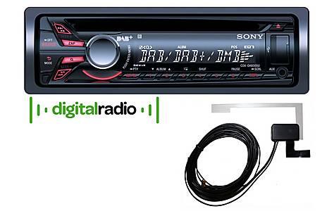 image of Sony CDX-DAB500U & DAB Film Antenna Bundle