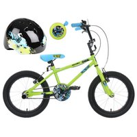 Apollo Ace Kids' Bike, Helmet & Bell Bundle