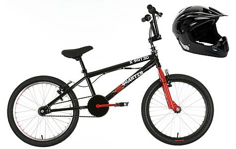 image of X-rated BMX and CRE8 Full Face Helmet Bundle
