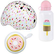 image of Blogger Junior Helmet, Bottle & Bell Bundle