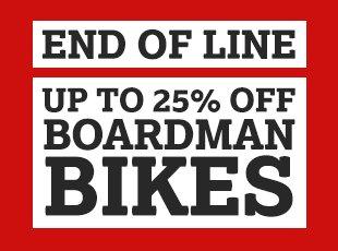 End of Line Boardman Bikes