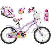 Apollo Cherry Lane Kids' Bike, Helmet, Bell & Bottle Bundle