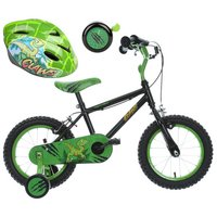 Apollo Claws Kids' Bike, Helmet & Bell Bundle