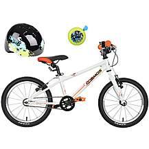 """image of Carrera Cosmos 16"""" Kids' Bike, Helmet & Bell Bundle"""
