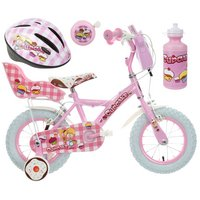 Apollo Cupcake Kids' Bike, Helmet, Bell & Bottle Bundle