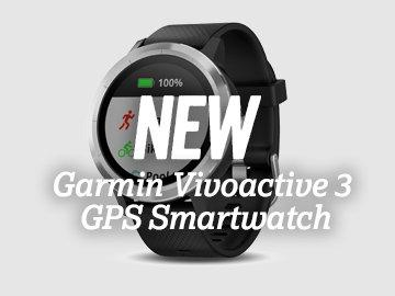 NEW Garmin Vicoactive 3 GPS Smartwatch