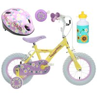 Apollo Daisychain Kids' Bike, Helmet, Bell & Bottle Bundle