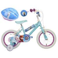 Disney Frozen Kids' Bike, Helmet & Bell Bundle