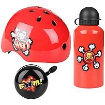 image of Gamer Junior Helmet, Bottle & Bell Bundle