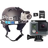 GoPro Hero, 32GB SD Card & Helmet Mount Bundle