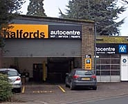 Halfords Autocentre Bury St Edmunds