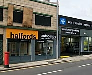 Halfords Autocentre Nottingham (Huntingdon St)