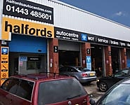 Halfords Autocentre Pontypridd