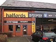 Halfords Autocentre Preston (Riversway)