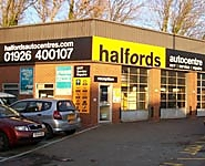 Halfords Autocentre Warwick