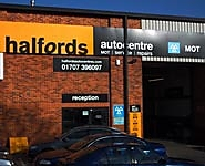Halfords Autocentre Welwyn Garden City