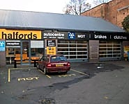 Halfords Autocentre Worcester