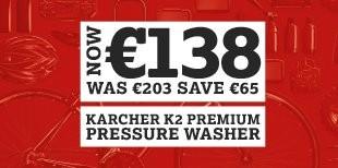 now 155 karcher k2 premium pressure washer