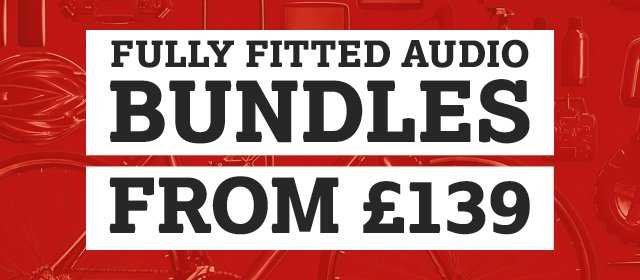 Fully Fitted Car Audio Bundles