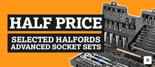 Half price selected socket sets