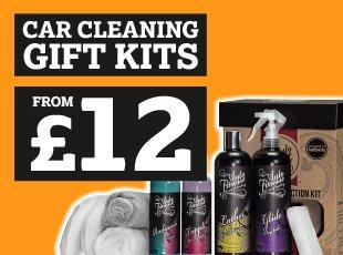 Car Cleaning Gift Kits from £12