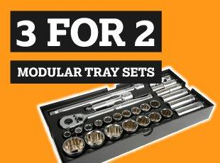 3 for 2 Modular Tray Sets