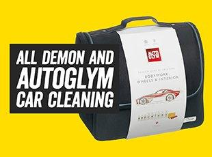 all Demon and Autoglym Car Cleanign
