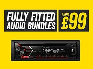 Fully fitted audio bundles from £99