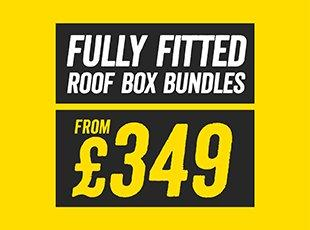 Fully Fitted Rooftop Box Bundles