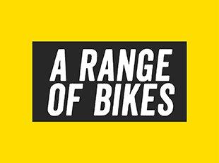 a range of bikes