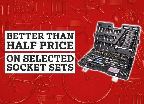 Better than half price socket sets
