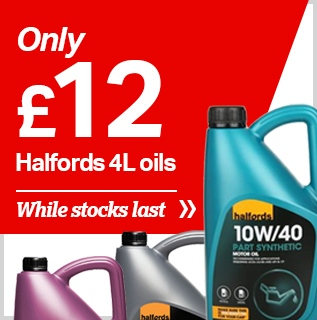 Halfords 4L oils