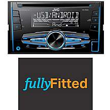 image of JVC KW-R520 Car Stereo Fully Fitted Bundle