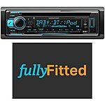 image of Kenwood KDC-BT710DAB Car Stereo Fully Fitted Bundle