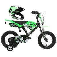 "MotoBike 12"" Kids' Bike & Helmet Bundle"