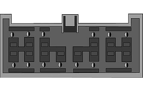 image of Harness Adaptor PC9-406 Lexus, Toyota to Phone with PC9-450