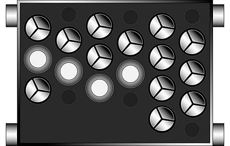 image of Harness Adaptor PC99-X37 Mini round pin