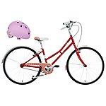 "image of Pendleton Junior Littleton Girls Bike - 26"" & Junior Bike Helmet (Purple) Bundle"