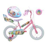 Disney Princess Kids' Bike, helmet & Bell Bundle